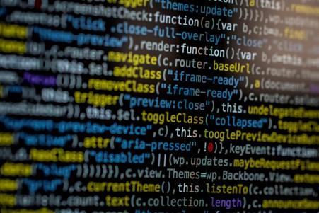 Image showing development code