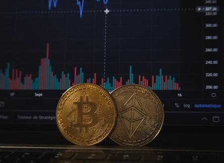 Image of a bitcoin