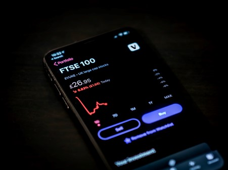 Image showing FTSE 100